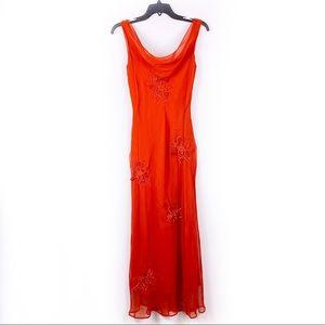 Adrianna Papell Evening Silk formal dress